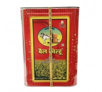 Bail Kolhu Mutard Oil Tin, 15 L