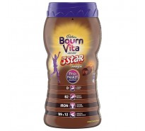 Cadbury Bournvita 5 Star Magic Chocolate Health Drink Jar, 500 g